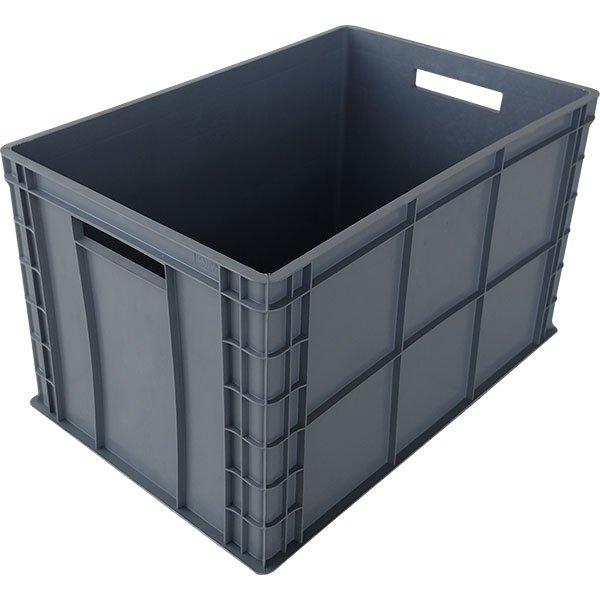 Plastične gajbe 400x600x350mm zatvorene stranice