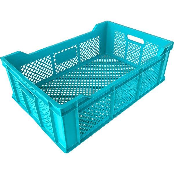 Plastične gajbe 400x600x200mm perforirana gajba