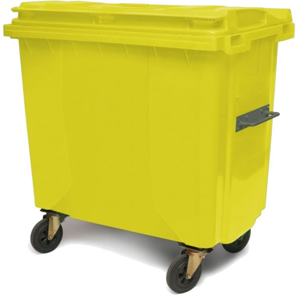 Plastični Kontejner za Smeće 660 Litara