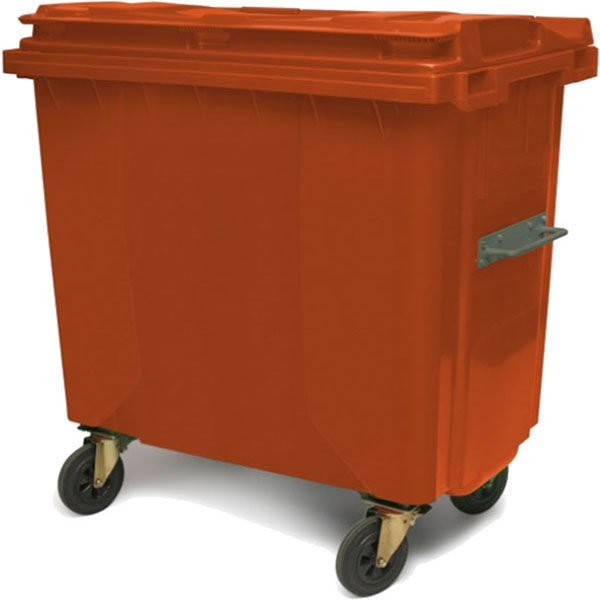 plastic waste container