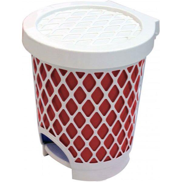 plastic waste bin