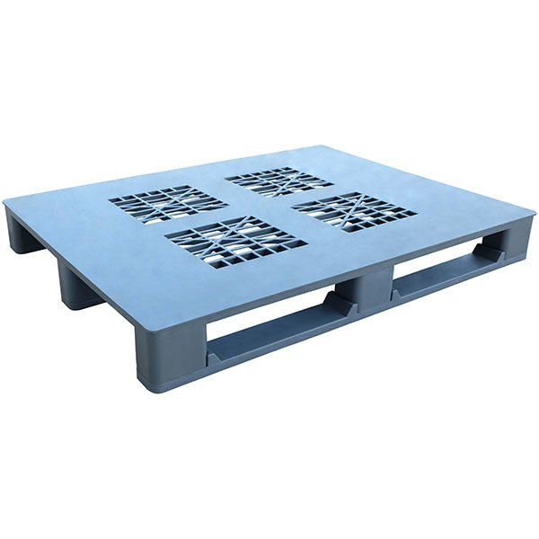 Stackable Plastic Pallet with runners