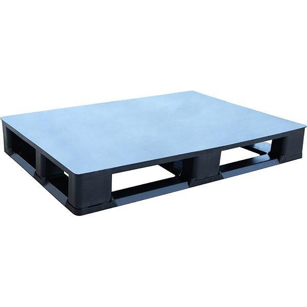 closed deck plastic pallet