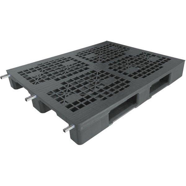 steel reinforced plastic pallet