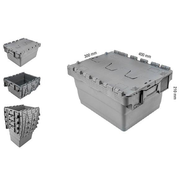 Konusne plastične gajbe 300x400x210(v)mm