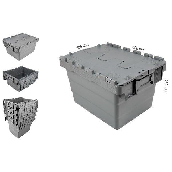 Konusne plastične gajbe 300x400x250(v)mm