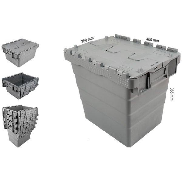 Konusne plastične gajbe 300x400x365mm