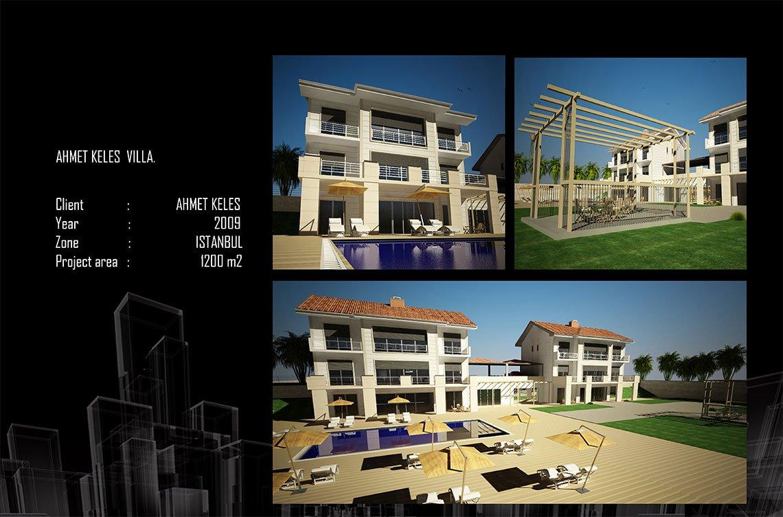 living area architectural design