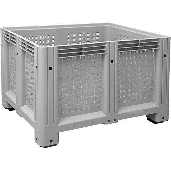 Rupičasti plastični paletni kontejneri 1000x1200x850mm
