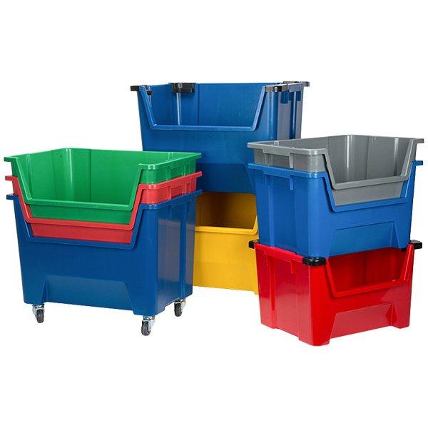Plastična kutija za slaganje 600x400x400(v)mm