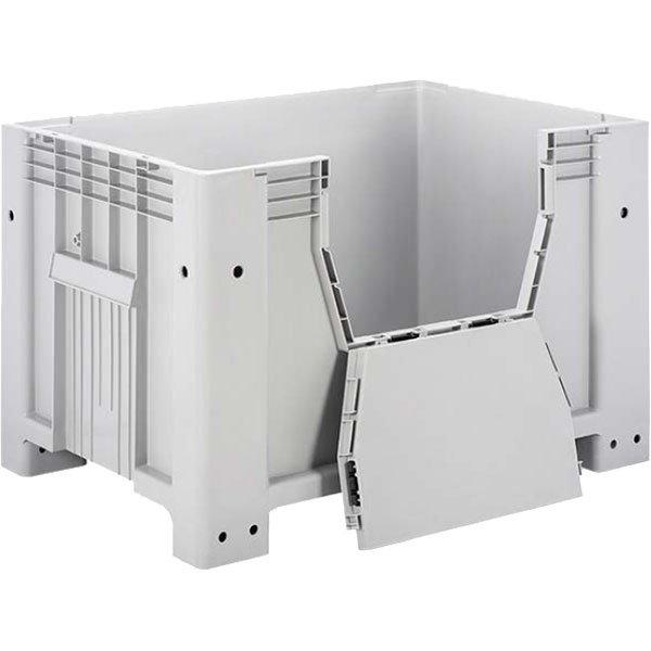 Zatvoreni plastični paletni kontejneri 800x1200x800mm