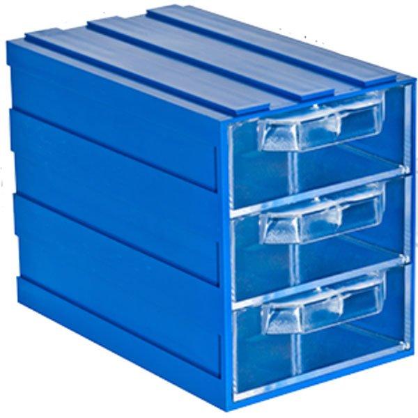 Plastična Kutija sa 3 Ladice 083x134x103(h)mm