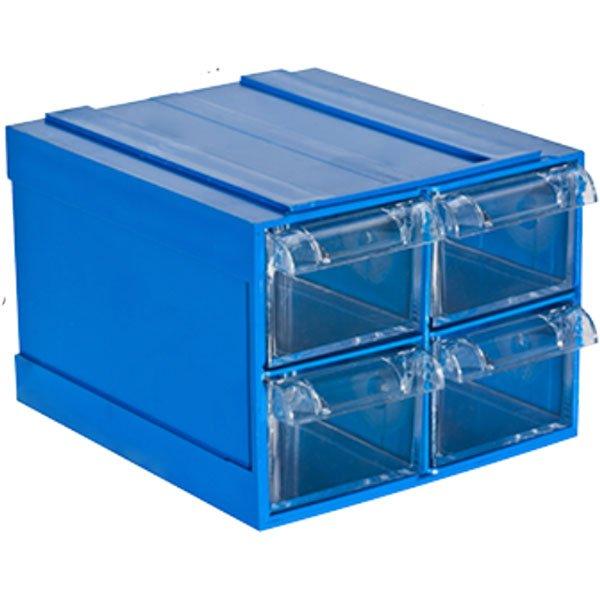 Plastična Kutija sa 4 Ladice 125x140x096(h)mm