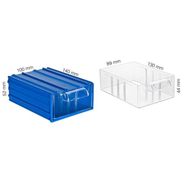 Plastična Kutija sa 1 Ladicom 100x140x052(h)mm