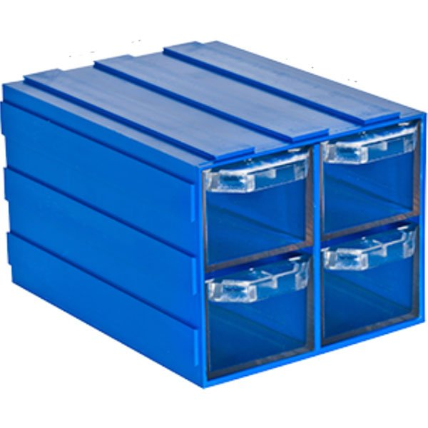 Plastična Kutija sa 4 Ladice 103x134x083(h)mm