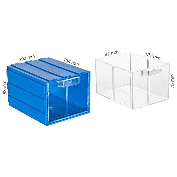 Plastična Kutija sa 1 Ladicom 103x134x083(h)mm