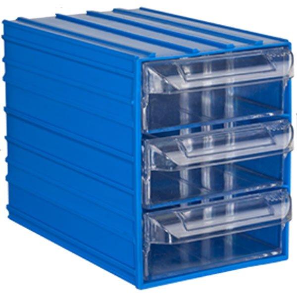 Plastična Kutija Sa 3 Ladice 125x200x155(h)mm - Meridian Group