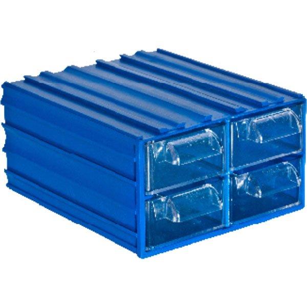 Plastična Kutija sa 4 Ladice 106x122x062(h)mm