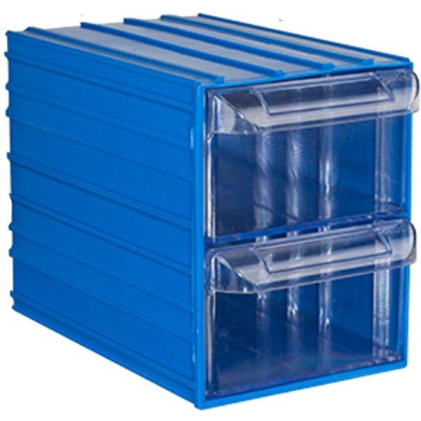 Plastična Kutija sa 2 Ladice 125x200x155(h)mm
