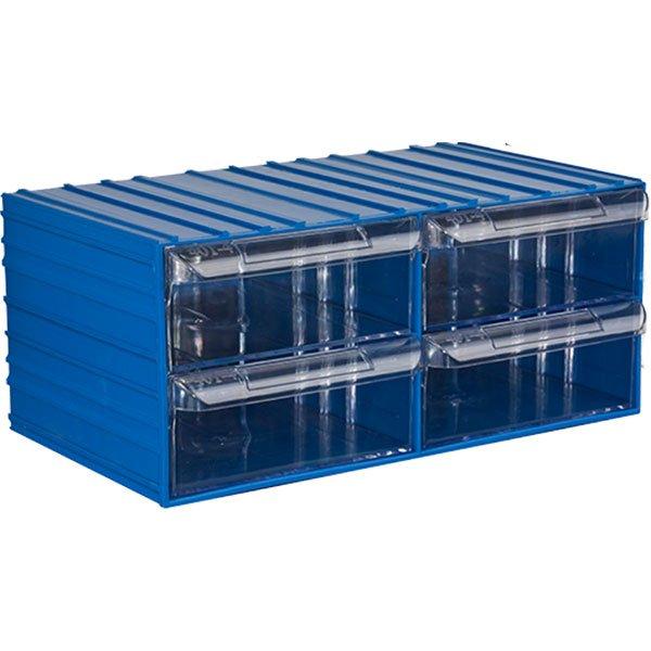 Plastična Kutija Sa 4 Ladice 360x200x155(h)mm