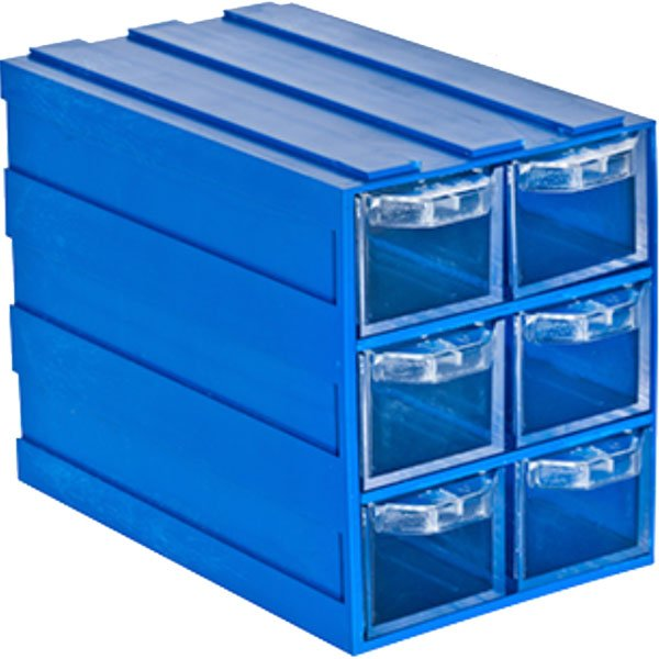 Plastična Kutija sa 6 Ladica 083x134x103(h)mm