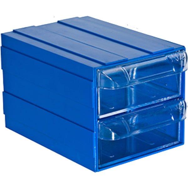 Plastična Kutija sa 2 Ladice 085x120x080(h)mm