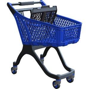 100-liter-blue-supermarket-trolley