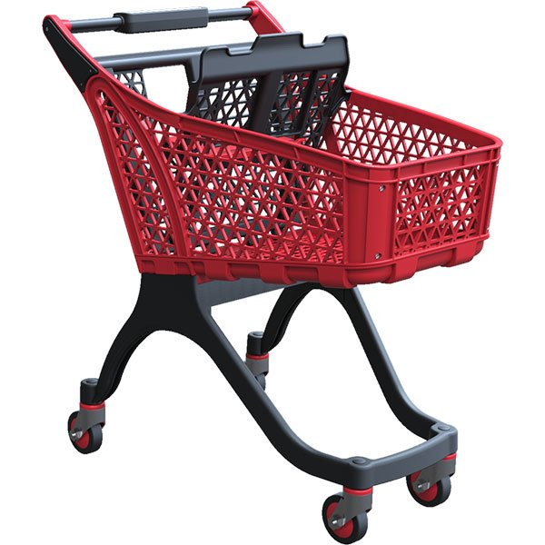 100-liter-red-plastic-supermarket-trolley