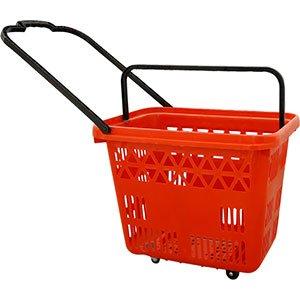 54 Litara Plastična Supermarket Korpa Sa Duplim Ručkama