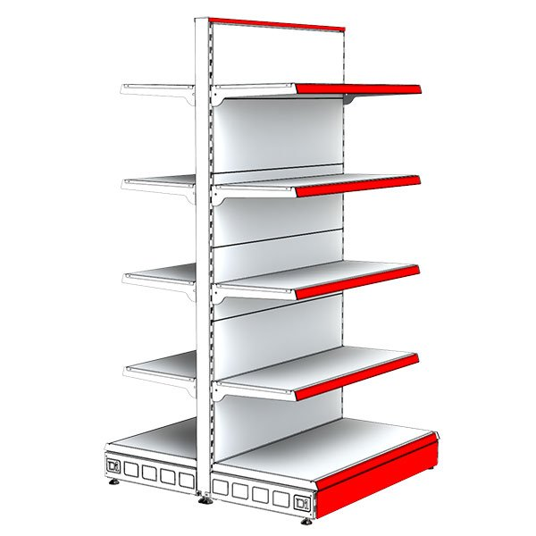 Gondola-Unit-Shelving-195X50-R4X40