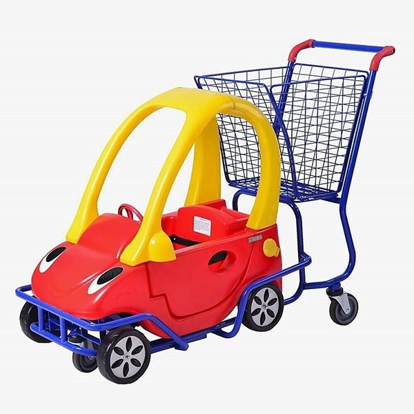 Supermarket-Trolley-With-Kid's-Car​-1