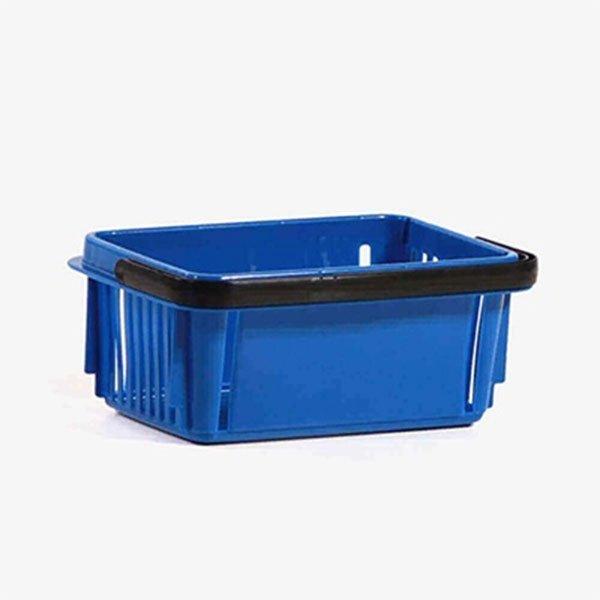 7 Litara Plava Plastična Trgovačka Korpa
