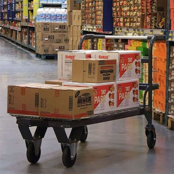 transportna kolica u marketu