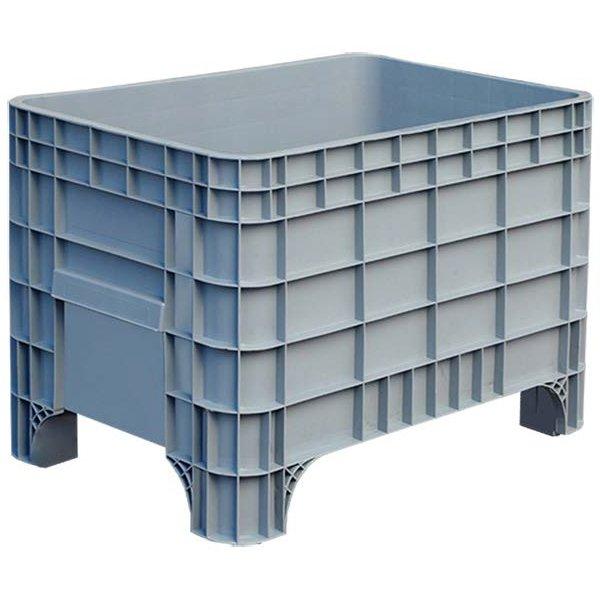 Zatvoreni plastični paletni kontejneri 640x1000x673mm