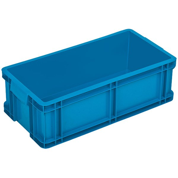 Plastične gajbe 250x500x165mm zatvorene stranice