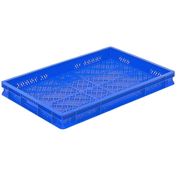 Plastične gajbe 400x600x60mm perforirana gajba
