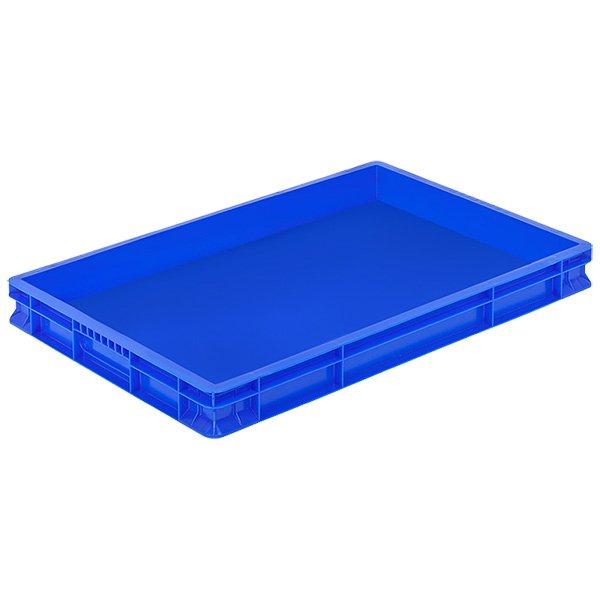 Plastične gajbe 400x600x65mm zatvorene stranice