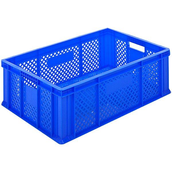 Plastične gajbe 400x600x150mm zatvoreno dno