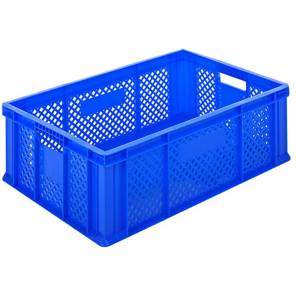 Plastične gajbe 400x600x230mm zatvoreno dno